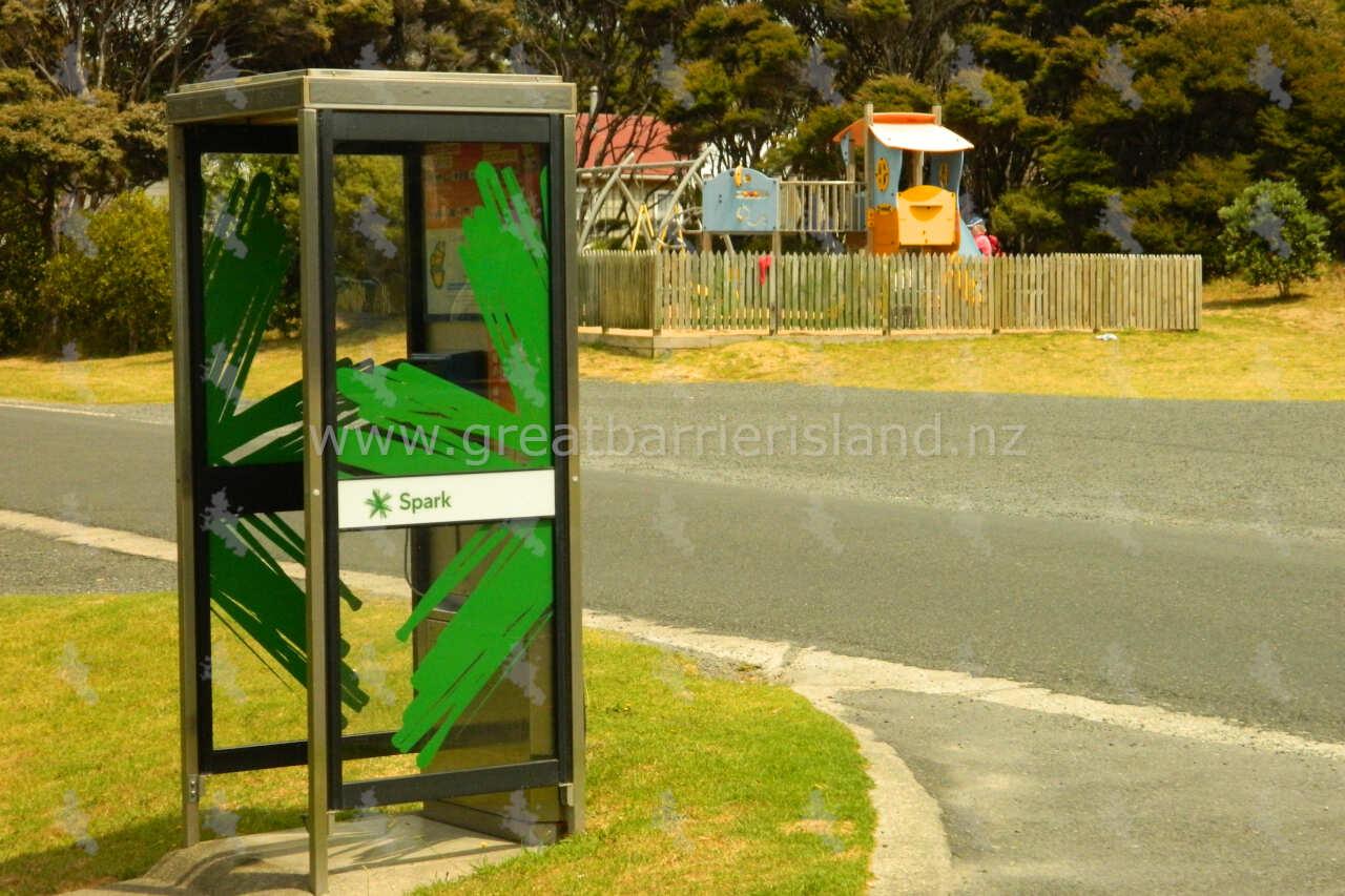 public telephone claris great barrier island