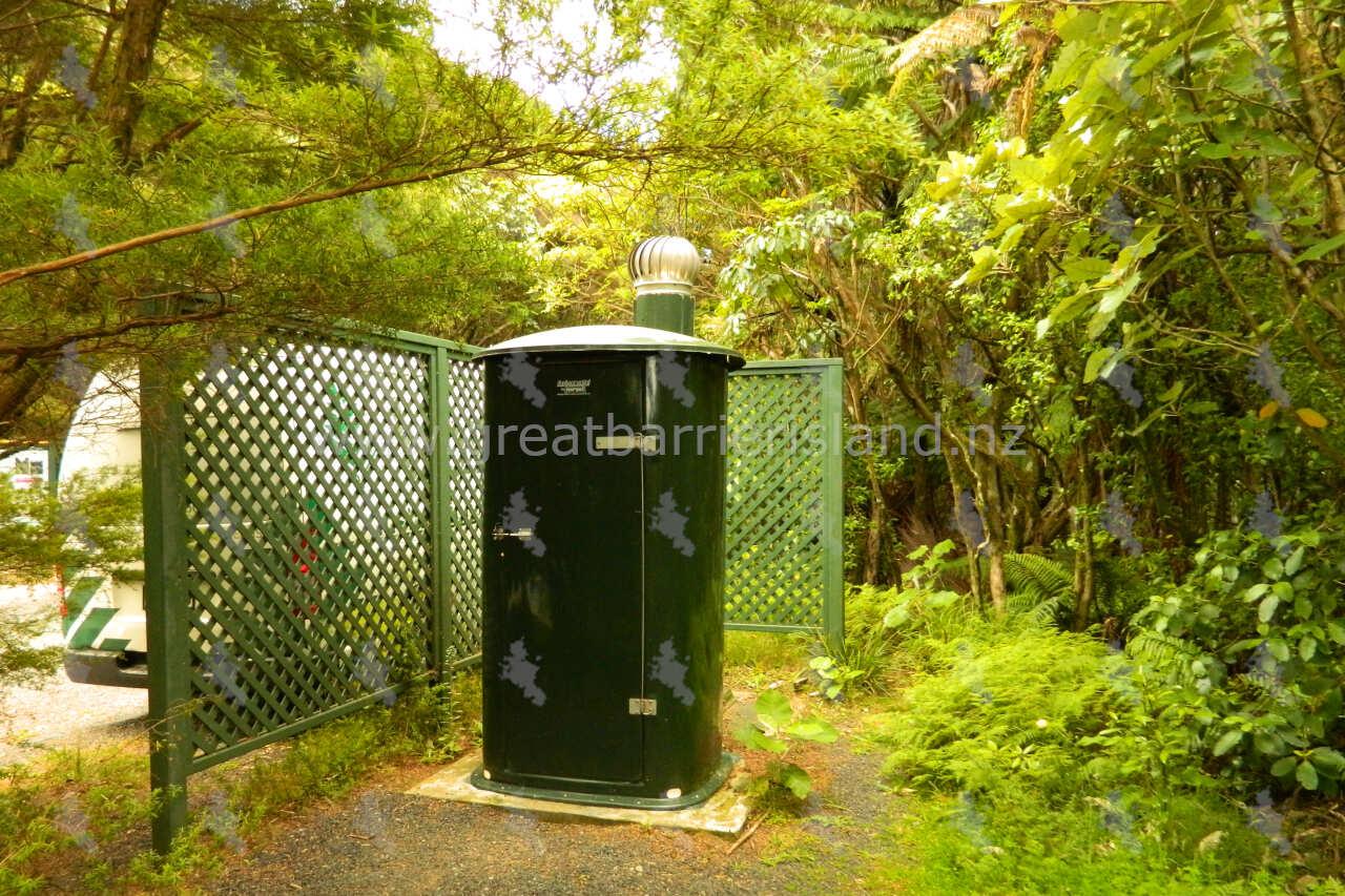 public toilets windy canyon great barrier island